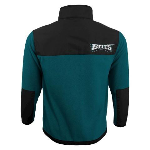 Philadelphia Eagles Zip Fleece Shirt