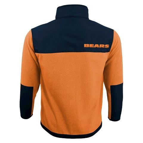 Chicago Bears Zip Fleece Shirt