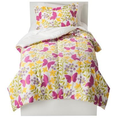Room 365 Butterfly Garden Comforter Set - Twin