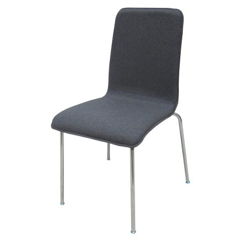 Room Essentials™ Dining Chair Grey Blue Tar