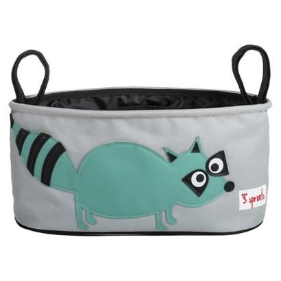 3 Sprouts Stroller Organizer - Raccoon