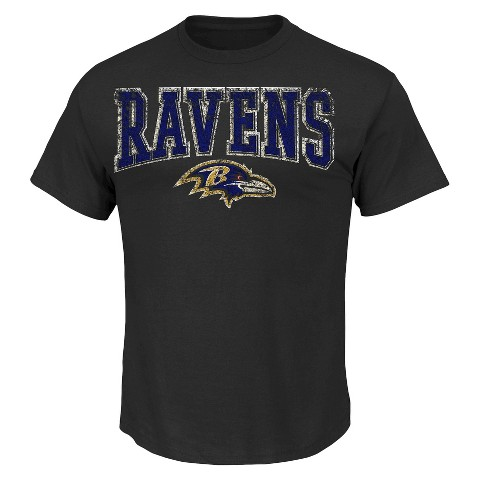 Baltimore Ravens Joe Flacco 5 Fantasy Leader II Men's Tee Shirt - Black