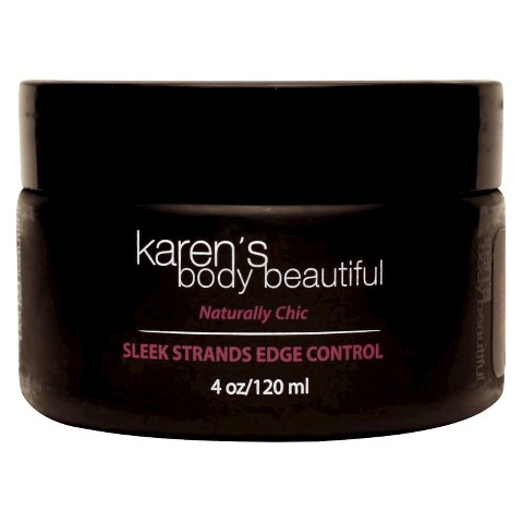 Karen's Body Beautiful Sleek Strands Edge Control Pomegrante and Guava - 4 oz