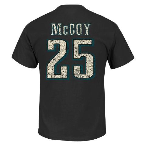 Philadelphia Eagles Lesean McCoy 25 Fantasy Leader II Men's Tee Shirt - Black