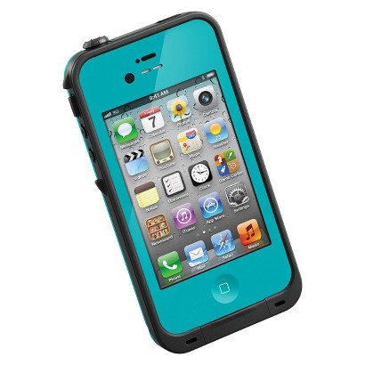 Lifeproof fr Cell Phone Case for iPhone 4/4S - Teal