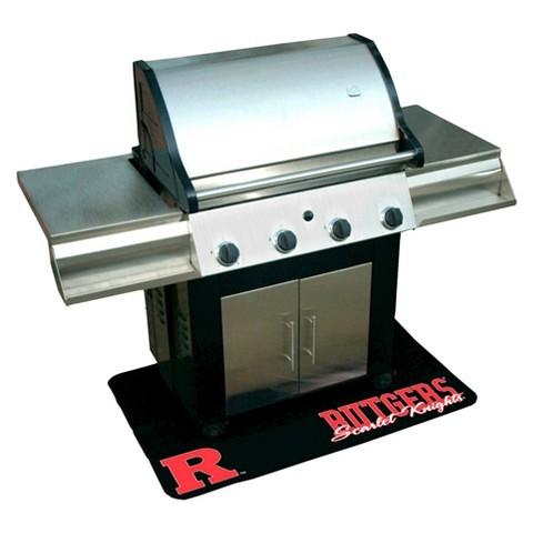 Mr. Bar-B-Q - NCAA - Protective Grill Mat, Rutgers University Scarlet Knights
