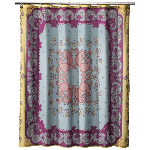 boho boutique lola shower curtain target