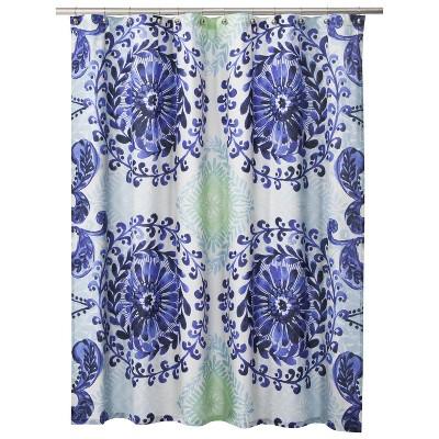Boho Boutique™ Haze Medallion Shower Curtain