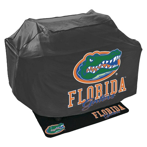 Mr. Bar B-Q - NCAA - Grill Cover and Grill Mat Set, University of Florida Gators