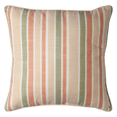 "Threshold™ Yarndye Striped Toss Pillow (18x18"")"