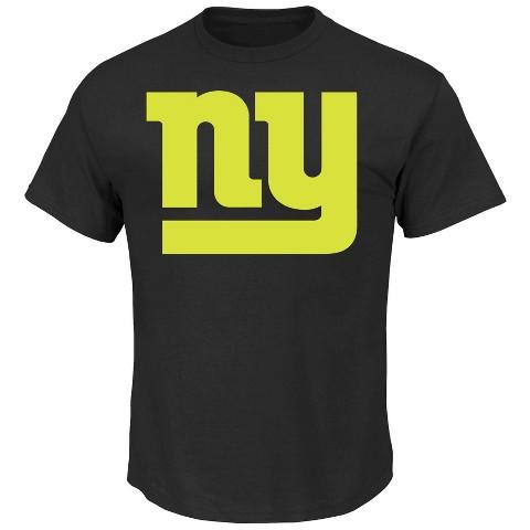 New York Giants No Idle Threat II Tee Shirt - Black