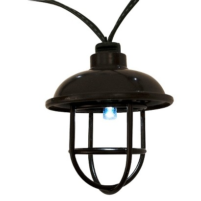 Threshold™ Solar Plastic Pendant String Lights (20ct)