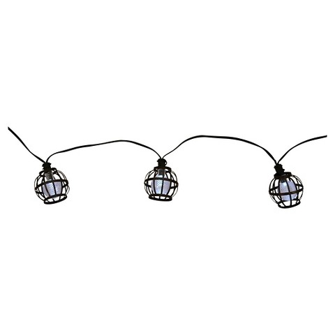 Solar String Lights Target : Solar Metal Globe String Lights (20ct) - Threshold : Target