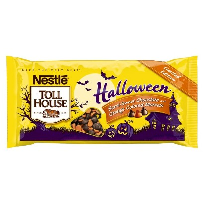 Nestle Toll House Halloween Chocolate and Morsels 10 oz