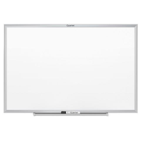 Quartet Aluminum Framed Dry Erase Board  - White (6'X4')