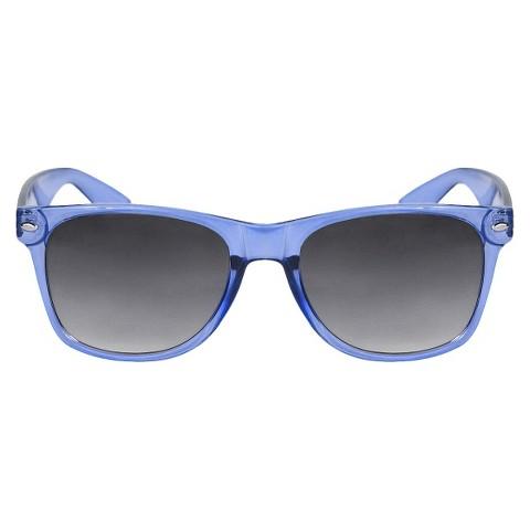 Squared Sunglasses - Neon-Blue