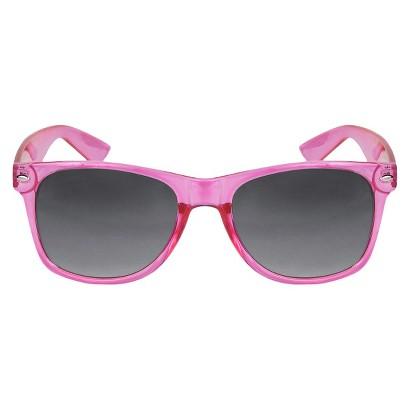 Squared Sunglasses - Neon-Pink