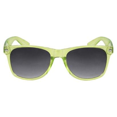 Squared Sunglasses - Neon-Green