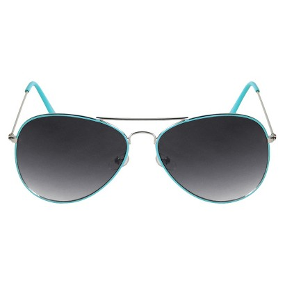 Aviator Sunglasses - Turquoise