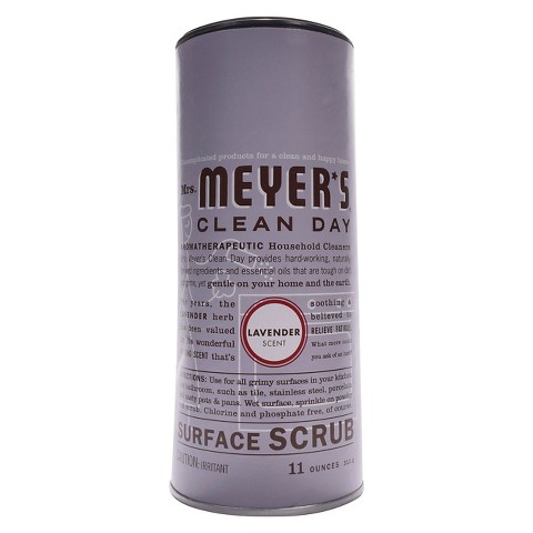 Mrs. Meyer's Lavender Scented Surface Scrub 11 oz