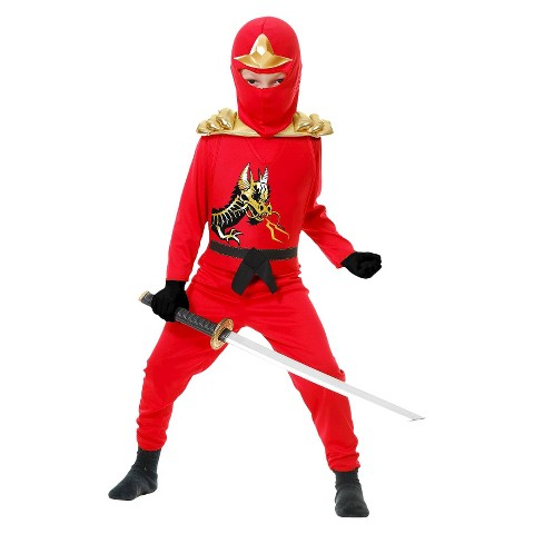 Toddler/Boy's Ninja Avengers Series II Red Costume