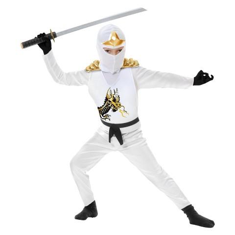 Toddler/Boy's Ninja Avengers Series II White Costume