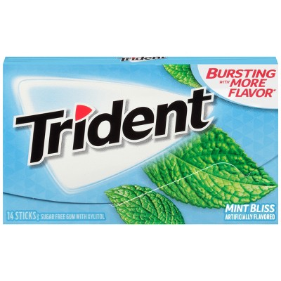 Trident Mint Bliss Sugar-Free Gum 18 ct