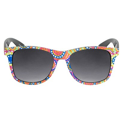 Women's Print Surf Sunglasses - Black