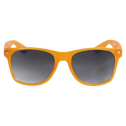 Solid Sunglasses - Orange/Gray