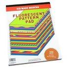 Kid Made Modern Fluorescent Paper Pad