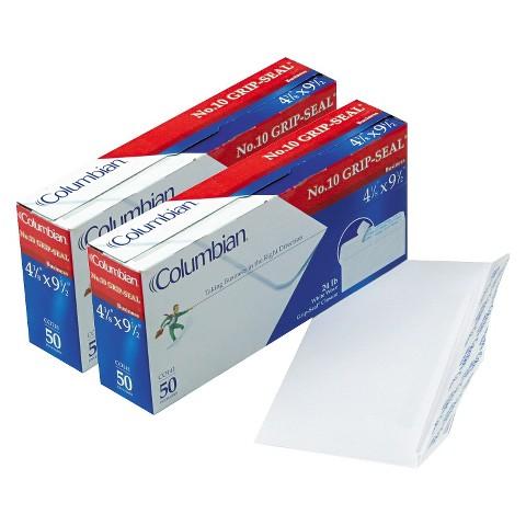 """50-Count Plain Peel Envelope 2 Pack  - White  (4.12""""X9.5"""")"""