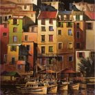 Art.com - Mediterranean Gold Mounted Print