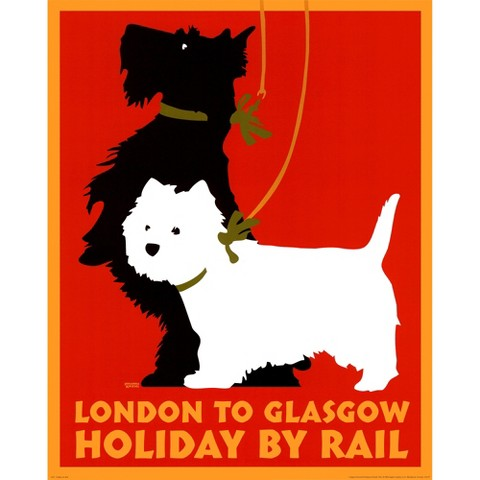 Art.com - Holiday by Rail
