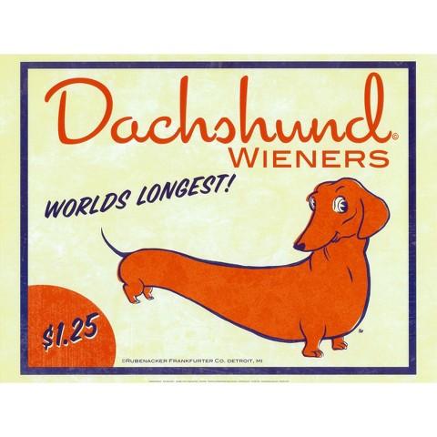 Art.com - Dachshund Wieners