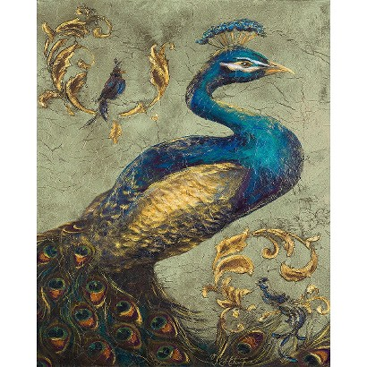 Art.com - Peacock on Sage