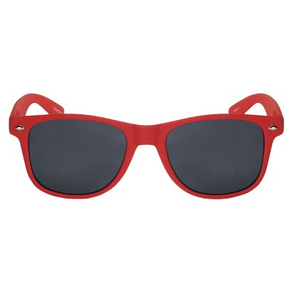 Solid Surf Sunglasses - Red