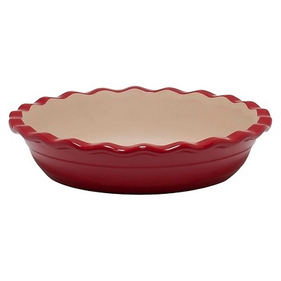 NaturalStone™ Deep Dish Pie Red 9""