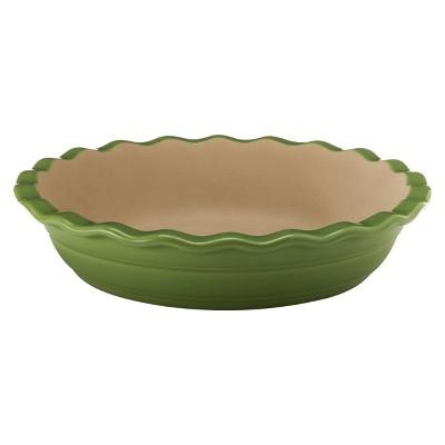 "NaturalStone™ Handcraft 9"" Deep Dish Pie Pan - Green"