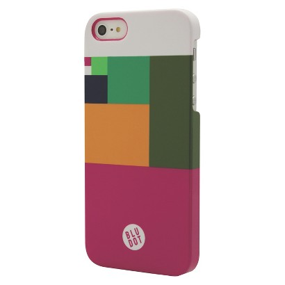 BluDot Color Block Cell Phone Case for iPhone 5/5s - Multicolor (CO7771)