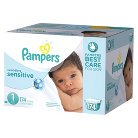 Pampers Swaddlers Sensitive Diapers Economy Plus Pack (Select Size)