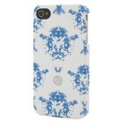 BluDot Moose Toile Cell Phone Case for iPhone 4/4S - Multicolor (CO7769)