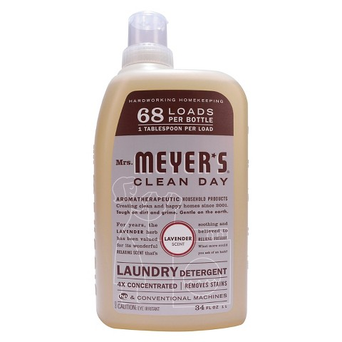 Mrs. Meyer's Lavender 4x Concentrated Laundry Detergent 32 oz