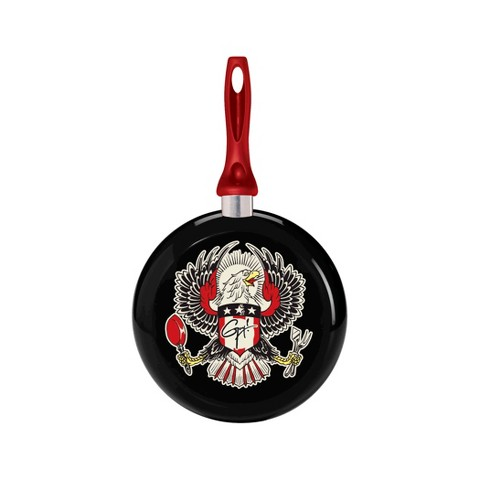 Guy Fieri Nonstick Aluminum Decorated 9.5 Inch Skillet Eagle