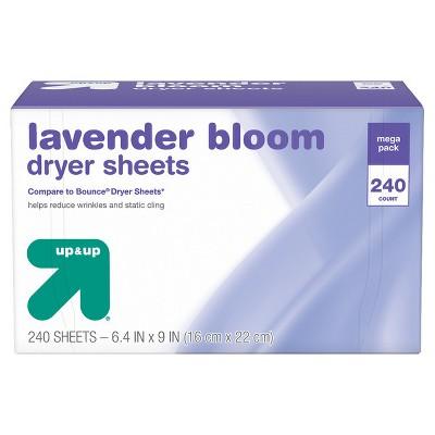 Lavender Dryer Sheets - 240ct - up & up™