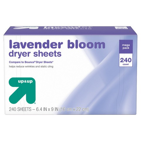 up & up™ Dryer Sheets - Lavender Scent - 200 ct