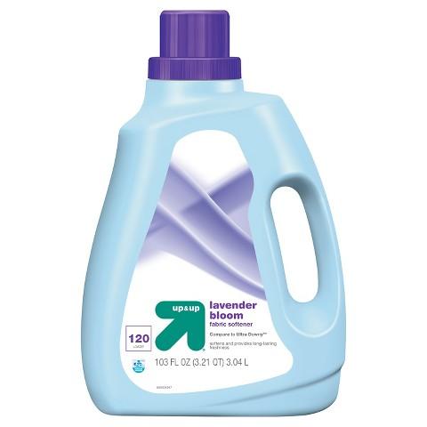 up & up™ Liquid Fabric Softener - Lavender Scent - 100 oz