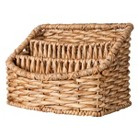Smith & Hawken™ Woven Tray Decorative Basket with 3 Compartments