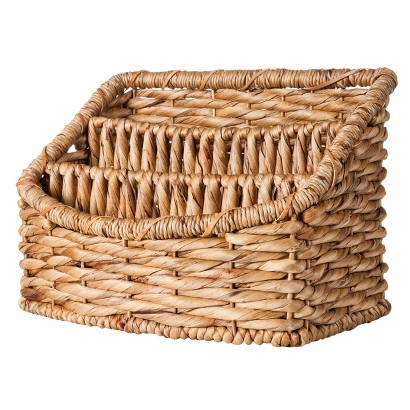 SMITH & HAWKEN® WOVEN BASKET TRAY ORGANIZER WITH 3 COMPARTMENTS
