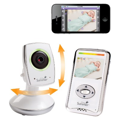 Summer Infant® Baby Zoom™ WiFi Video Baby Monitor & Internet Viewing System