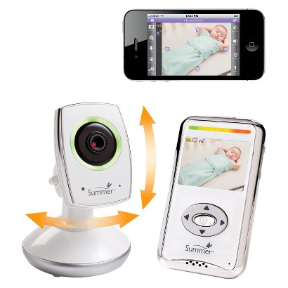 "Summer Infant Baby Zoom Wi-Fi 2.5"" Color Video Baby Monitor"
